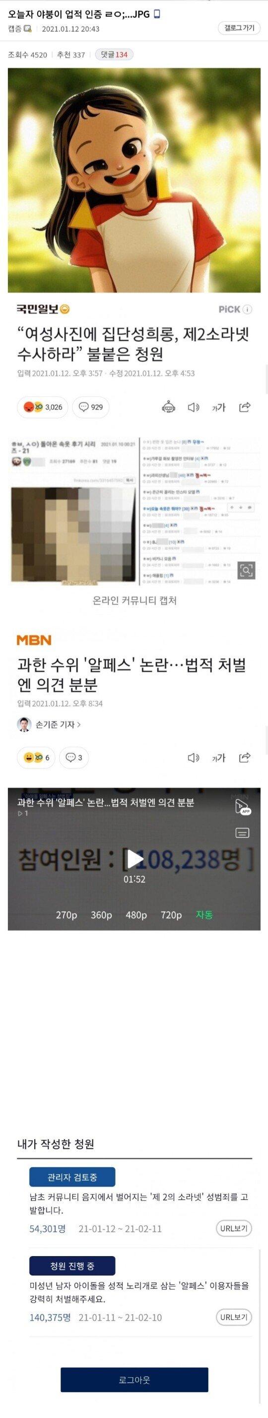 현재 대한민국 온라인을 쥐락펴락하고 있는 야갤러 - 꾸르
