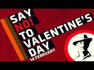 Celebrating-Valentine-Day-is-the-biggest-corruption-in-Indian-culture-भारतीय संस्कृति में वेलेंटाईन डे मनाना सबसे बडा नैतिक पतन - पण्डित गणेश उपाध्याय