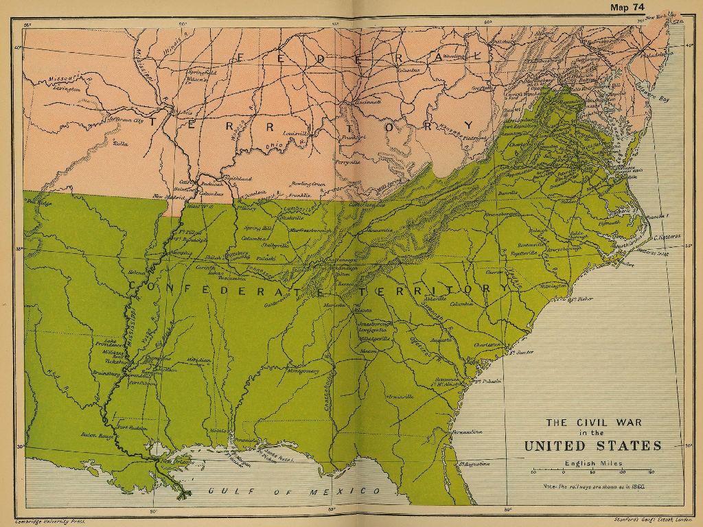 United States 1861 Map | Usa Map 2018