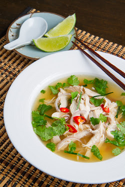 Tom Yum Gai (Thai Hot and Sour Chicken Soup)