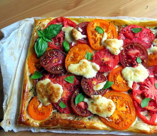 Rustic Tomato Pie