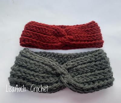 free headband crochet pattern free