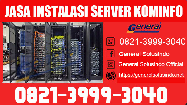 Jasa Instalasi Server Kominfo