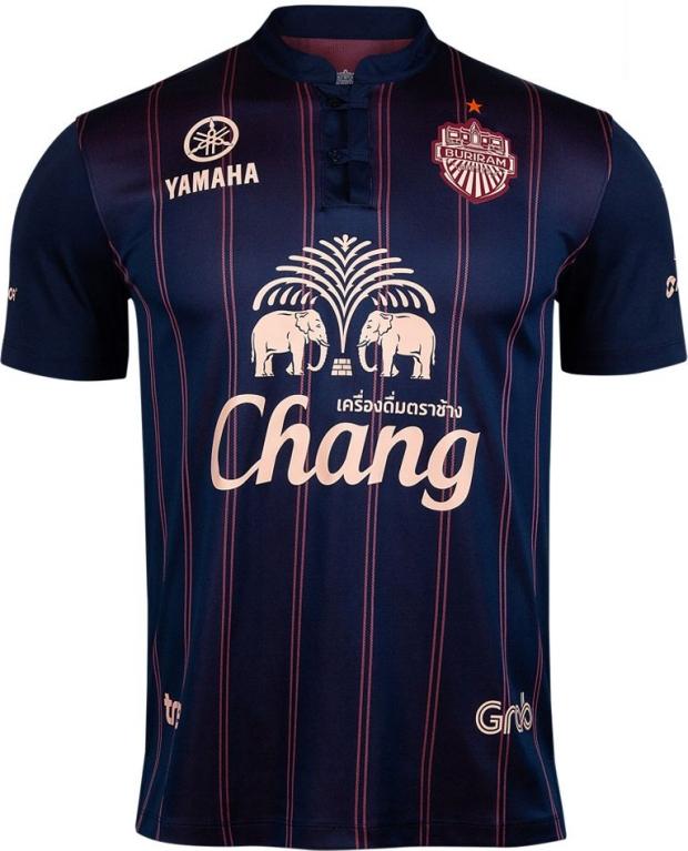 Ari divulga as novas camisas do Buriram United - Show de Camisas ed48a6afe2f3b