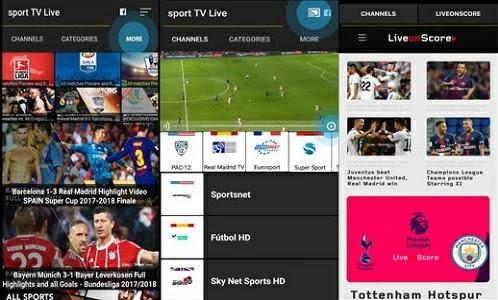 تطبيق 2020 Sport TV Live
