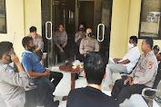 Kapolsek Picung Pimpin Coffee Morning Bersama Para Kanit dan Anggota