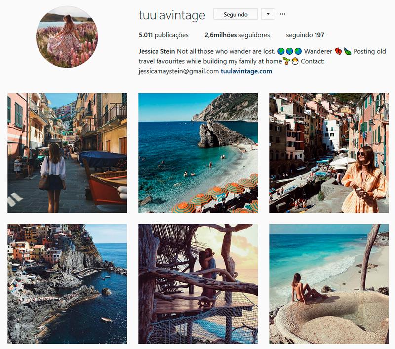 Top 10 Instagrammers Travel Bloggers para seguir tuulavintage Jessica Stein Indicações Dicas Instagram Pictures Photos Viajante Travelblogger Stephanie Vasques Viagens Não é Berlim blog naoeberlim