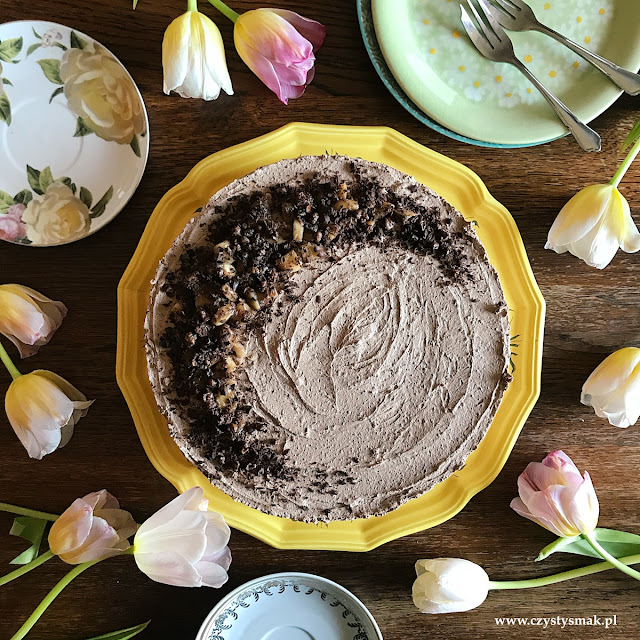 Ciasto czekoladowe na zimno