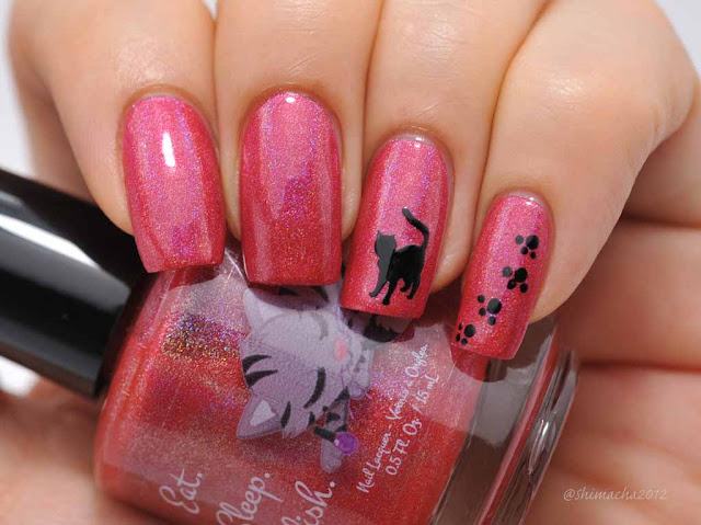 Eat Sleep Polish: Raspberry Gummy Bear