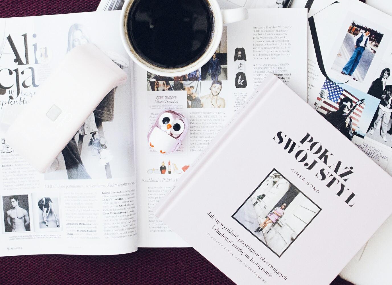 aimee song, pokaż swój styl, capture your style, książka book, blogerka, recenzja książki, wylęgarnia pomysłów