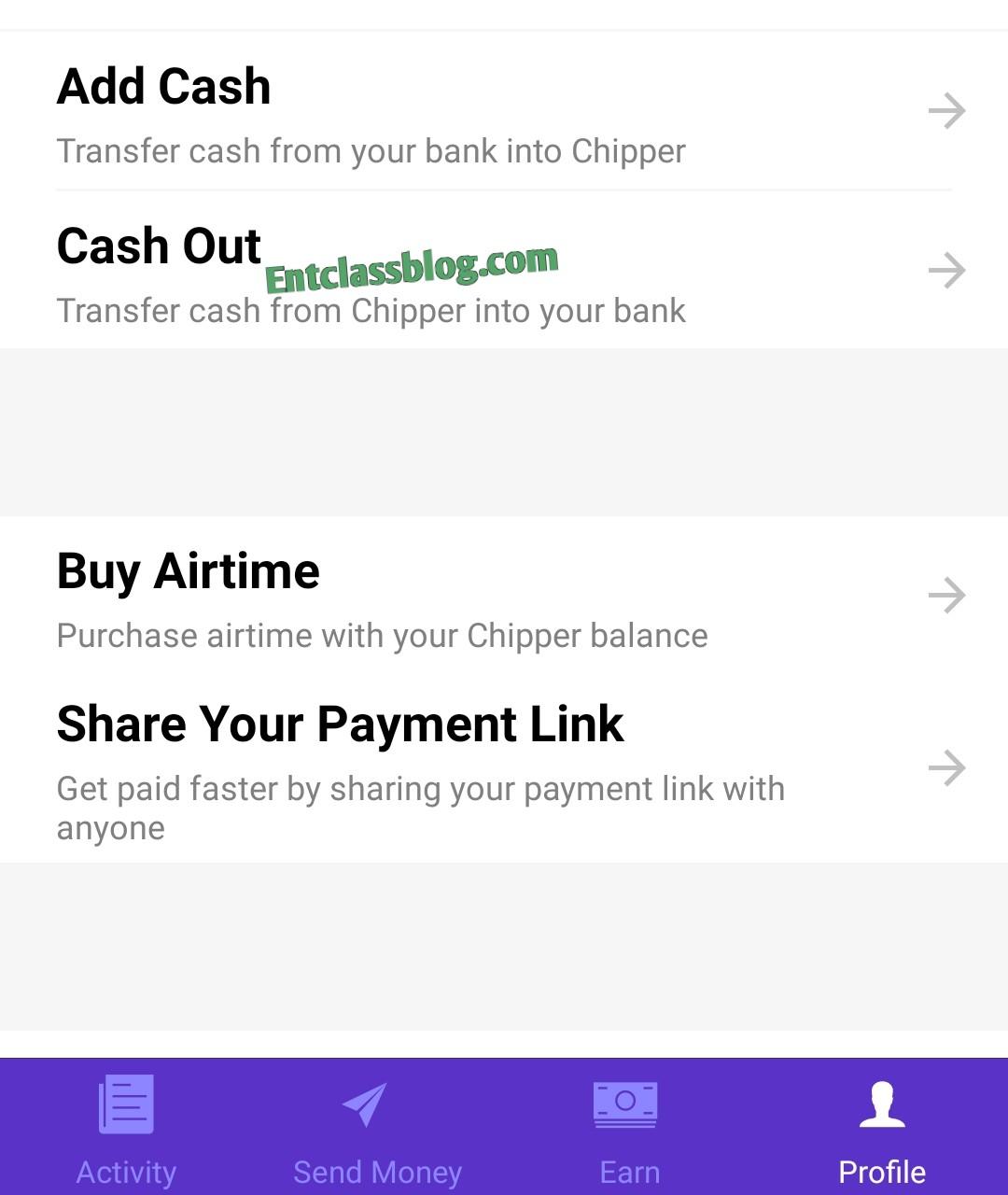 Chipper Cash Referral Program, Earn 250 Naira For Every