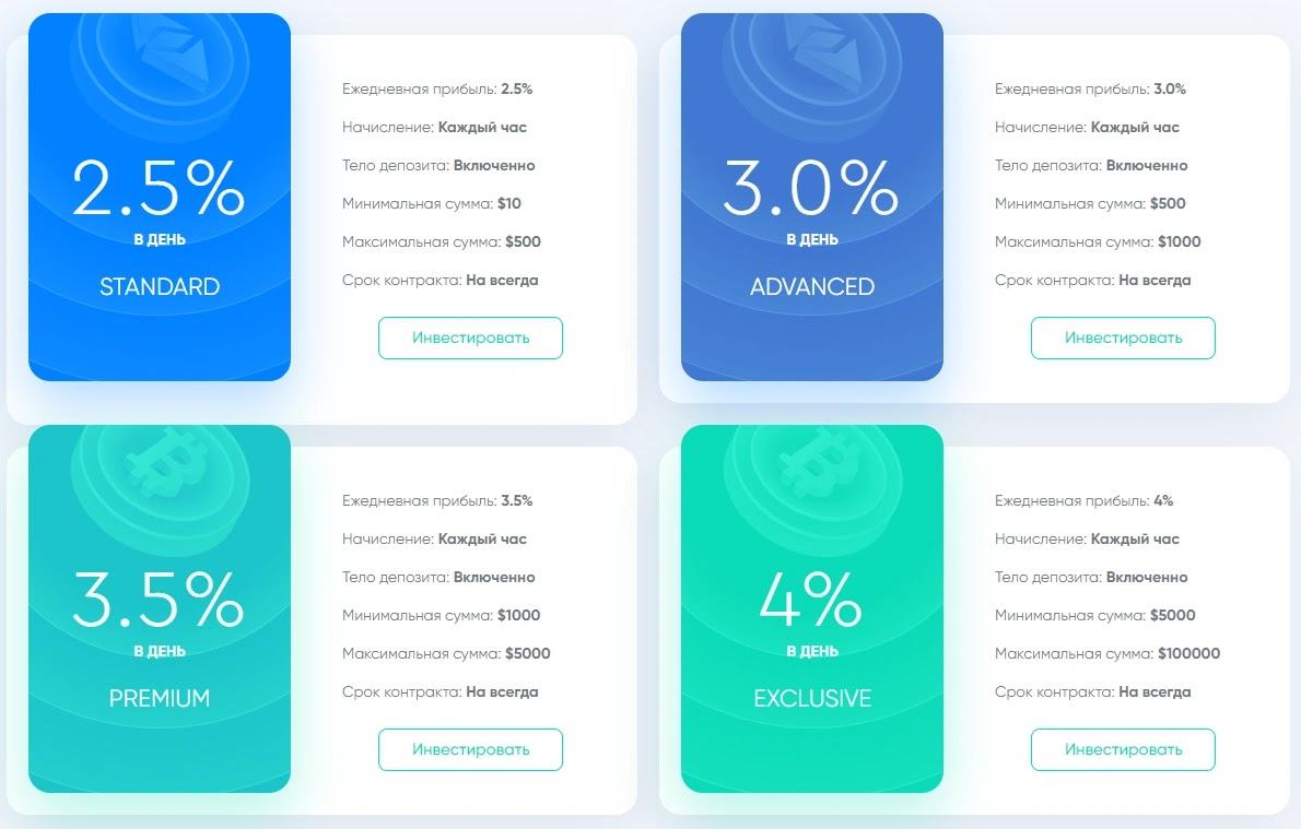 Инвестиционные планы Cryptek