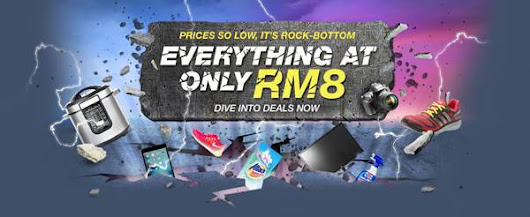 11street launches Rock Bottom Prices Promotion (Starting 9 September to 15 September 2017)