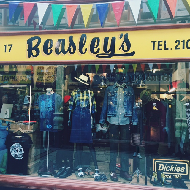 Beasleys vintage shop Hull