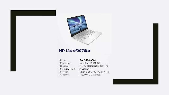 Laptop HP 14s-cf2076tu