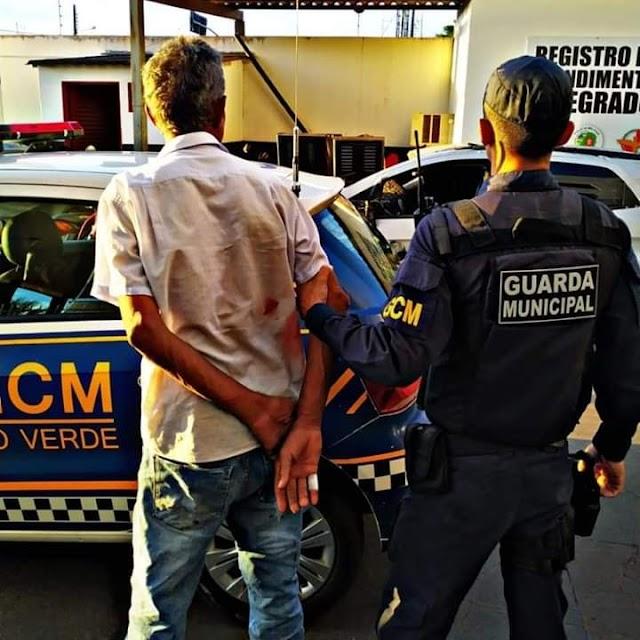 Rio Verde: Após descumprir medida protetiva homem é preso por ameaçar a própria mãe