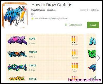 Aplikasi Pembuat Graffiti Terbaik - How To Draw Graffitis