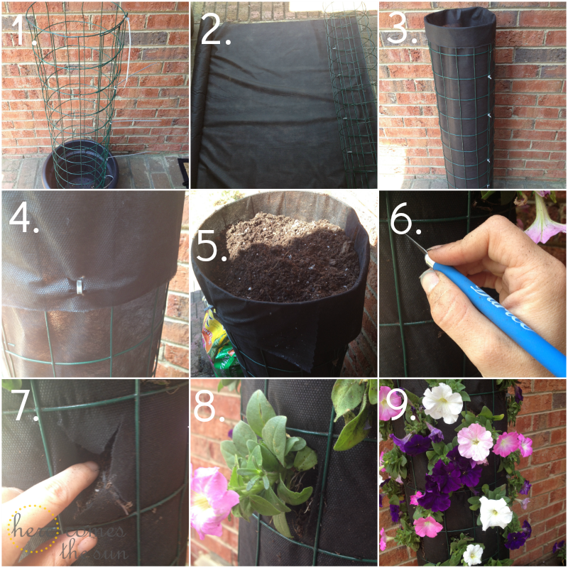 Diy Flower Tower Planter: Live Creatively Inspired