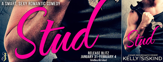 {Blog Tour – Review, Excerpt & Giveaway} Stud by Kelly Siskind