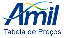 Tabela de preços Dos planos de sasúde Amil