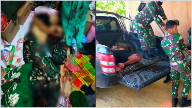 Serangan Teror*s Papua, Tiga Anggota TNI Gugur dengan Tubuh Penuh Luka Sayatan