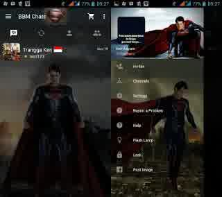 Download Bbm Mod 2016 Terbaru - Black Edition 1