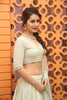 Raashi Khanan looks stunning in Crop Top Deep neck Choli Ghagra Transparent Chunni WOW ~  Exclusive Celebrities Galleries 097.JPG