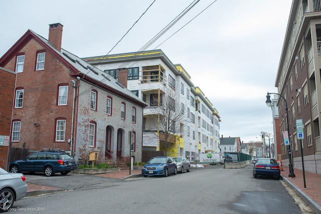 113 Newbury Street in Portland, Maine USA Construction photo by Corey Templeton.