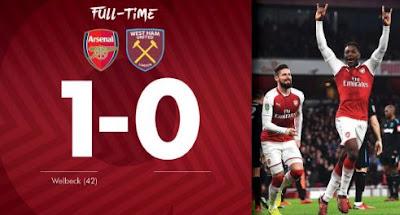 Arsenal vs West Ham United 1-0 Video Gol & Highlights