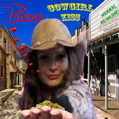 MP3/AAC Download - Cowgirl Kiss by The Papers - stream single free on top digital music platforms online | The Indie Music Board by Skunk Radio Live (SRL Networks London Music PR) - Friday, 26 October, 2018