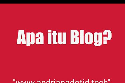 Blog? Pengertian dan Penjelasan