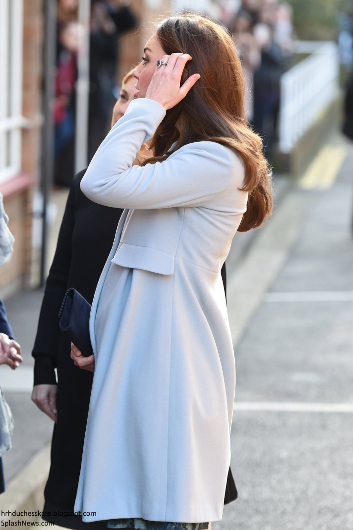 0e237b8a4cb Duchess Kate  UPDATED  Kate in Seraphine for Day of Engagements in ...