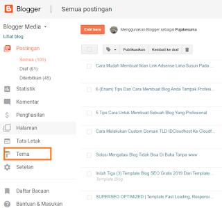 Cara Mudah Membuat Iklan Link Adsense Lima Susun Pada Blog