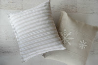 dish towel pillow covers