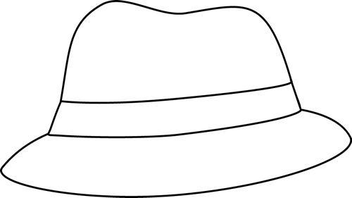 Tranh tô màu mũ nam