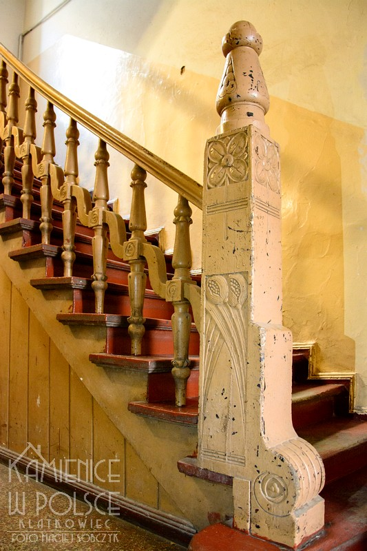 Poznań: ozdobne zwieńczenie balustrady