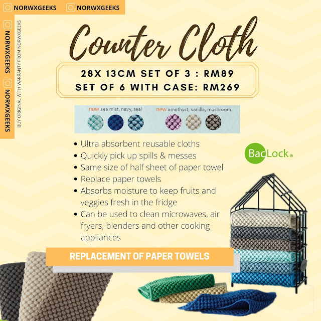 Counter Cloths Norwex