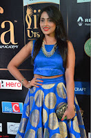Madhu Shalini Looks Super Cute Slim trim Blue Choli Ghagra IIFA Utsavam Awards 20.JPG