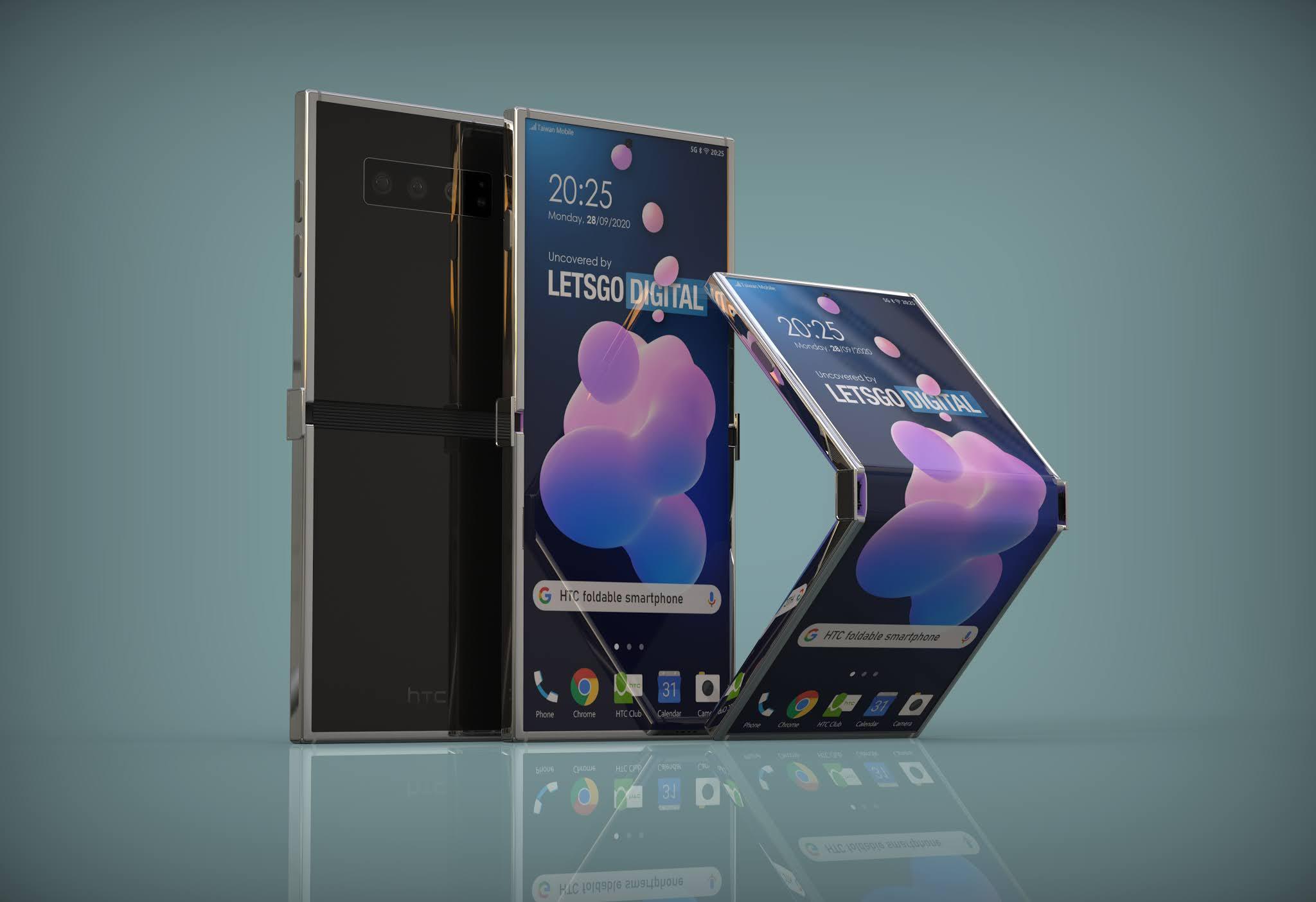 Ecco lo smartphone pieghevole di HTC