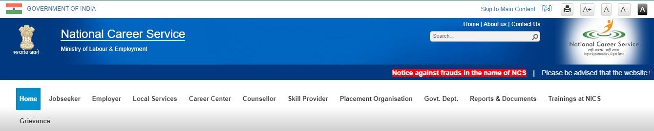 National Service Career NCS