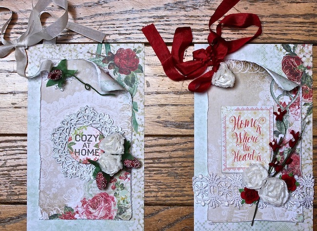 Christmas In July Gift Tags.Blue Fern Studios Christmas In July Gift Tags By Vicky