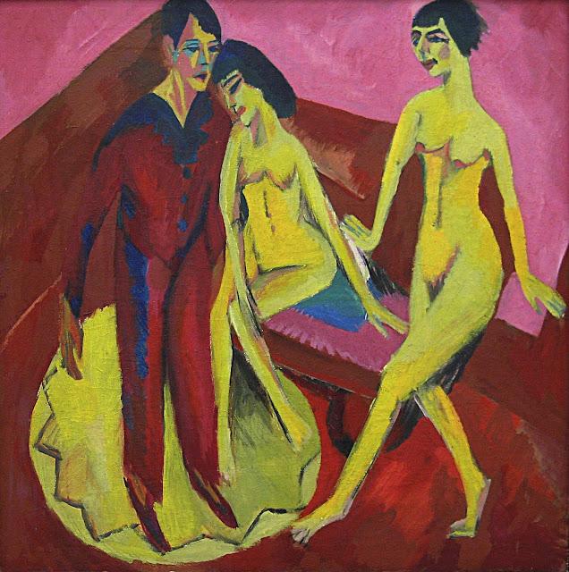 Ernst Ludwig Kirchner - scuola di ballo