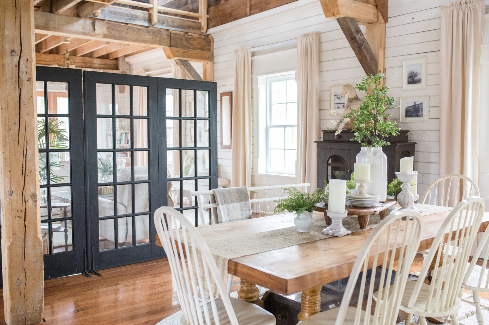 Small Interior French Doors