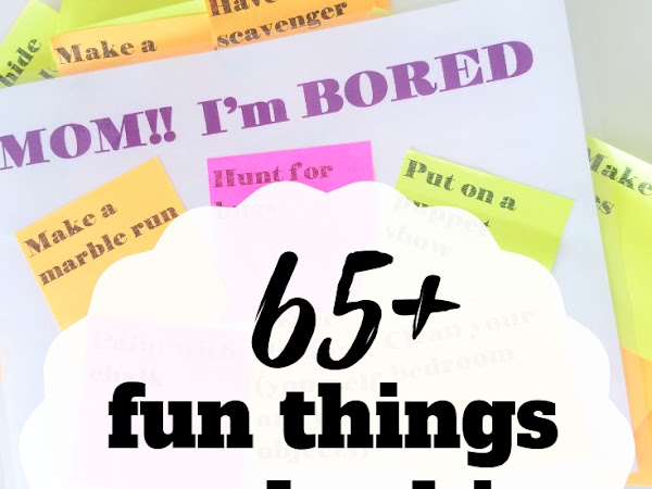 65+ Fun Things to Do In the Summer At Home