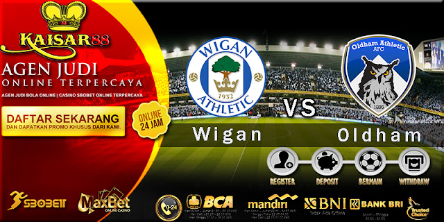 Prediksi Bola Hari ini Wigan Athletic vs Oldham Athletic 30 Maret 2018