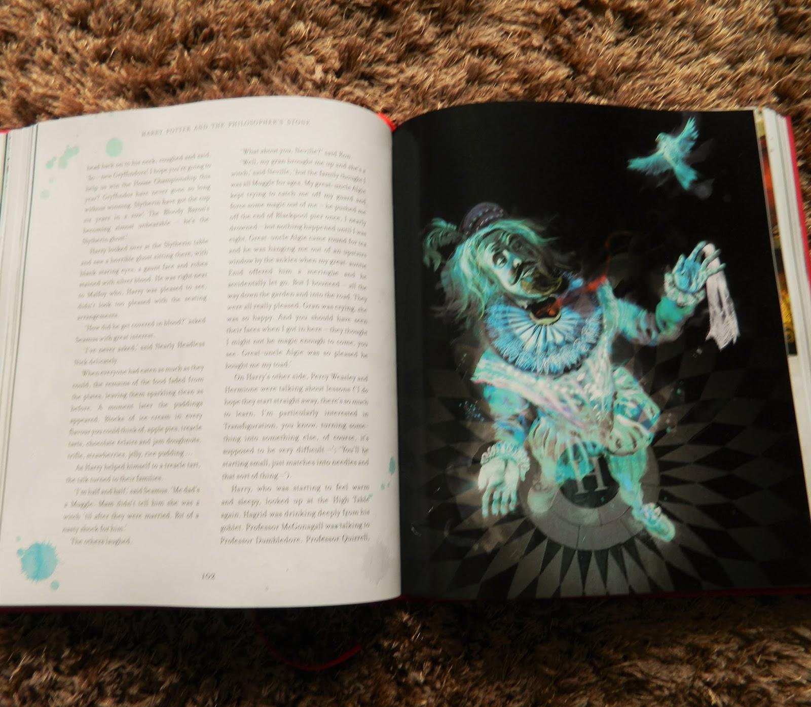 Harry Potter É A Pedra Filosofal throughout descobrindo: harry potter e a pedra filosofal - edição ilustrada