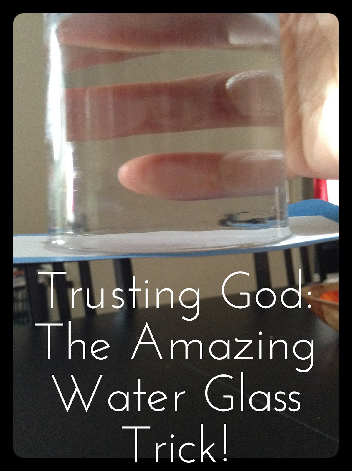 Flame: Creative Children's Ministry: Trusting God: The Amazing Water