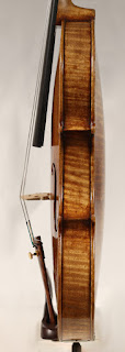 Copy of a Guarneri del Gesù Violin ribs by Nicolas Bonet Luthier - Eclisses d'un violon en copie de Guarneri del Gesù par Nicolas Bonet Luthier