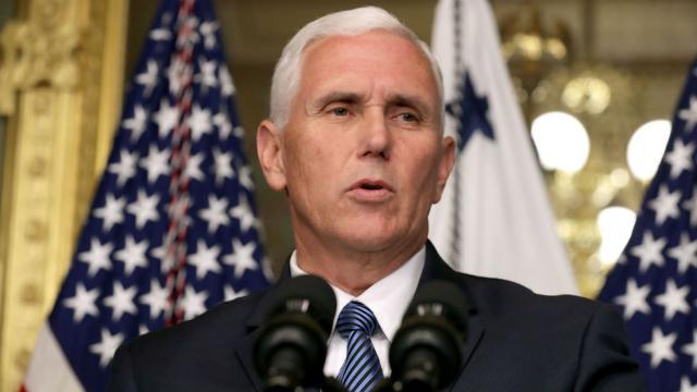 I won't invoke 25th Amendment to remove Trump – Pence