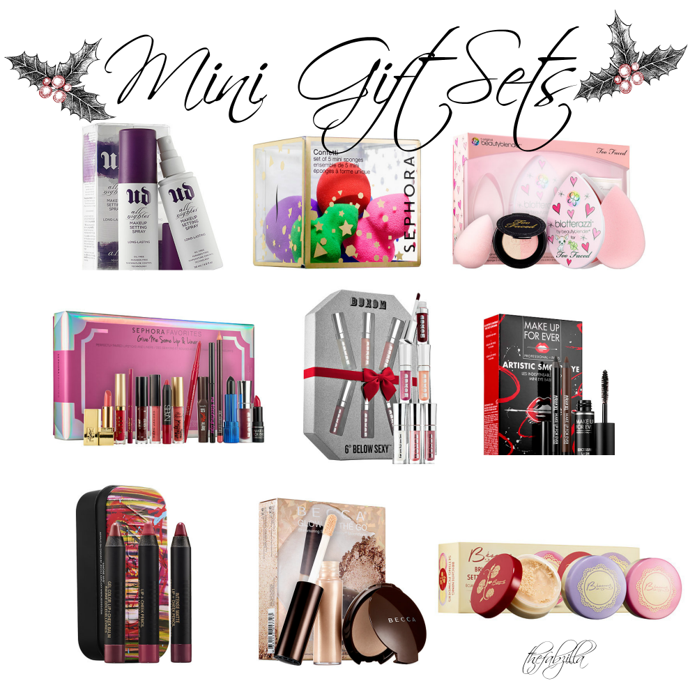 mini gift sets holiday sets